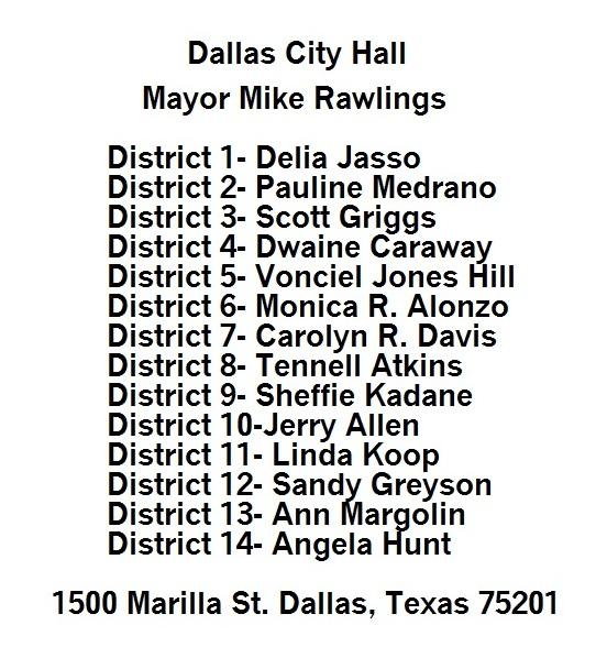 cityhallcontacts