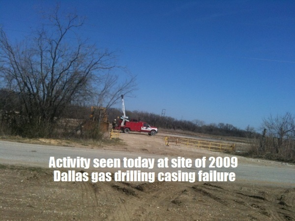 UD GAS WELL SITE